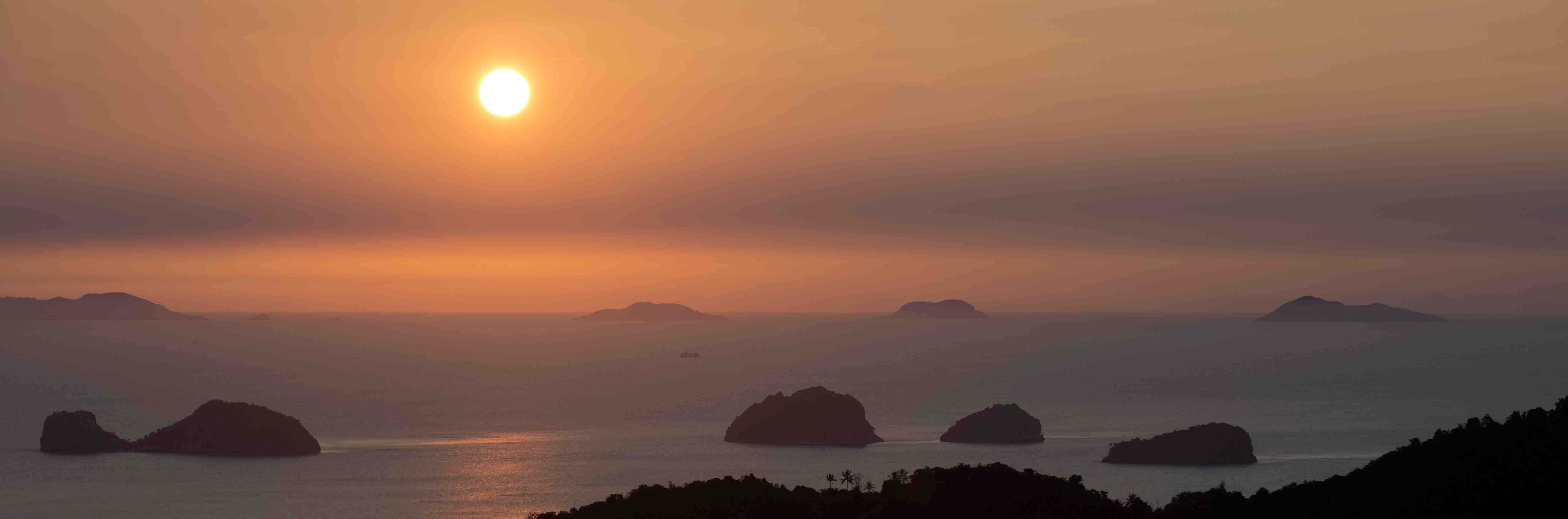 Sunset from Koh Samui
