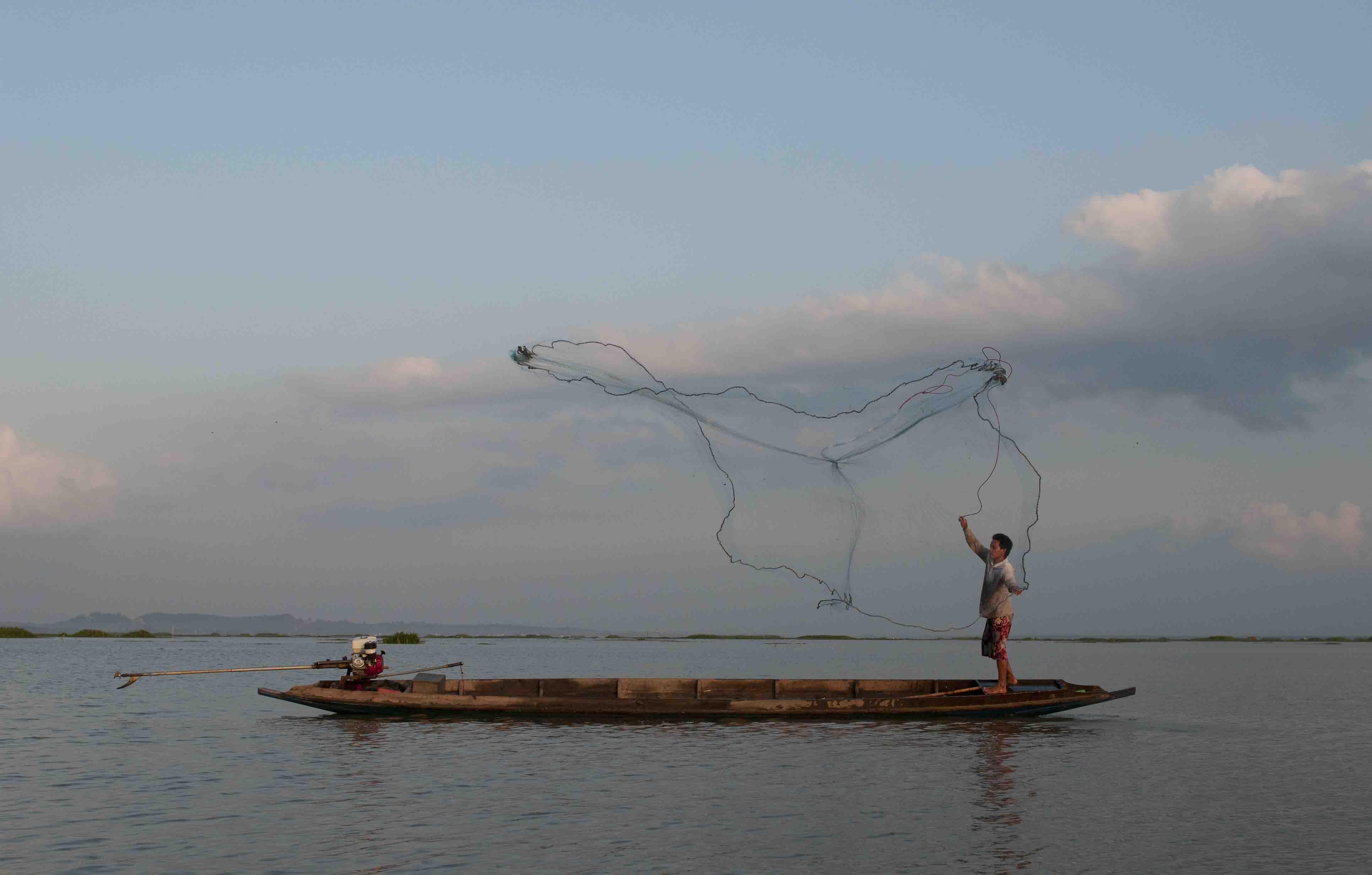 My boat, my net, my life