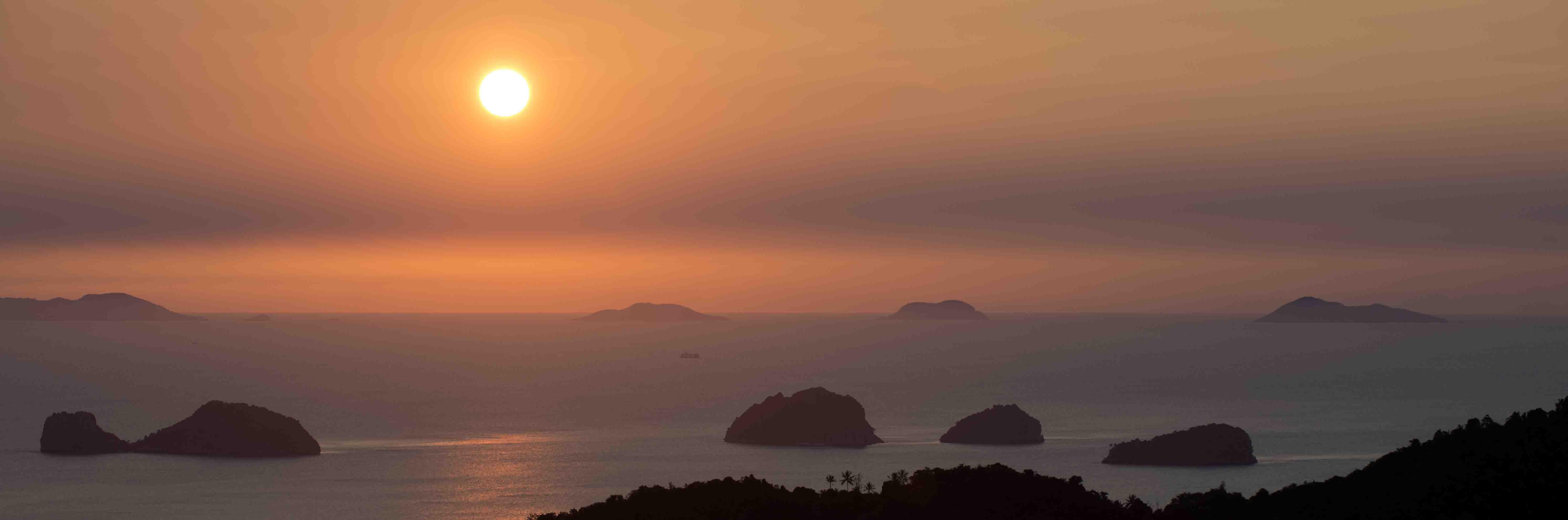 Coucher de soleil depuis Koh Samui