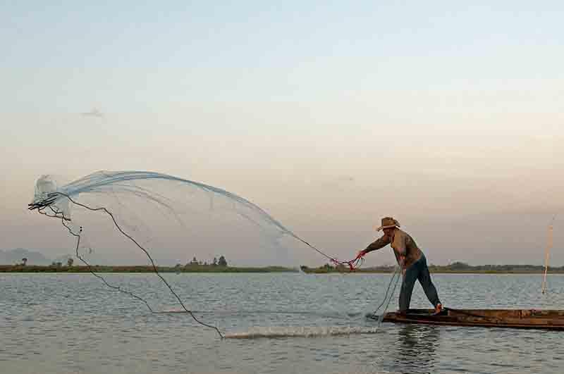 Pêche à l'aube