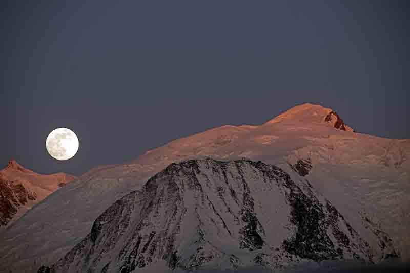 Lever de lune II